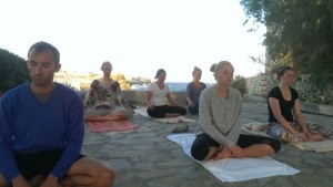English Yoga Berlin in Crete