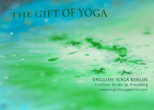 Berlin Yoga Gift Card